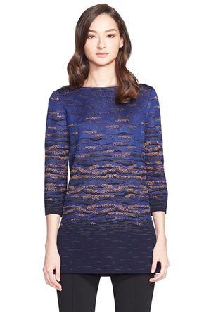 Women's St. John Collection Sunset Jacquard Knit Tunic -