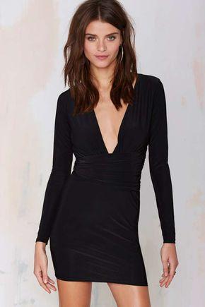 Alina Dress - Black Dress
