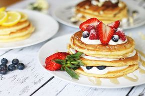 Jamie's American Fluffy Pancakes - Pancakes 3 Ways - on zoella.co.uk