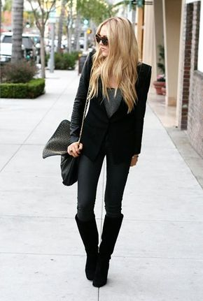all-black-fashion. story of my life.