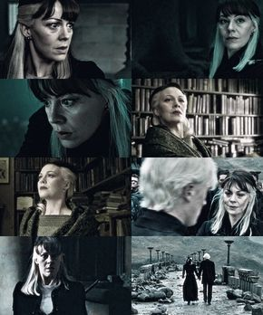 Can we just take the time to appreciate Narcissa Malfoy's awesome hair.