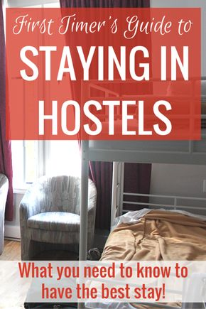 A Newbie's Guide to Staying in Hostels - Hostels can seem scary to first timers, but Caroline's guide to staying in hostels explains how they're great for saving money and meeting travelers.