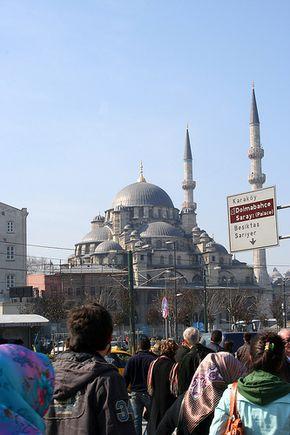Yeni Valide Camii Eminönü - Istanbul
