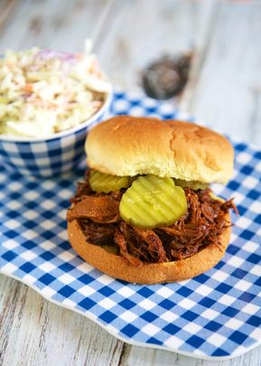 Slow Cooker Beef and Pork Sandwiches - Slow Cooker: Beef and Pork Sandwiches