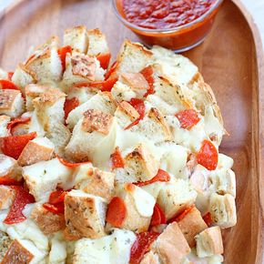 Bloomin' Pizza Bread - Pizza bread