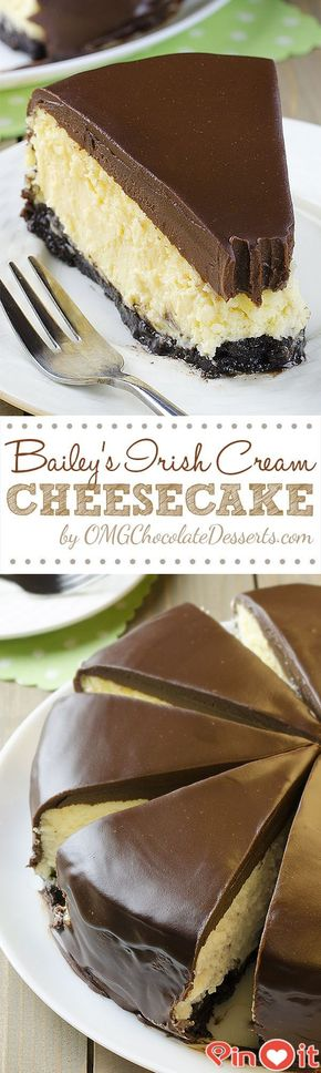 Bailey's Irish Cream Cheesecake - FASHİON TV 2015: Bailey's Irish Cream Cheesecake