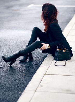 Spirit boots, black - → pinterest: mjjlla