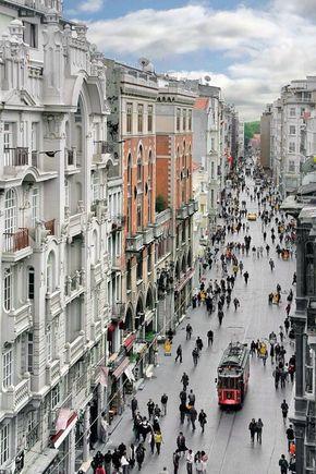Istiklal Avenue, Istanbul, Turkey. - Istanbul, Turkey
