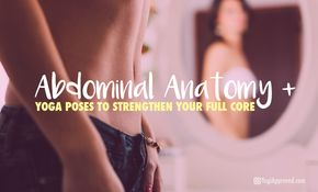Abdominal Anatomy + Yoga Poses to Strengthen Your Full Core - Having full core awareness and a solid understanding of the core's anatomy is a very important part of your yoga practice.