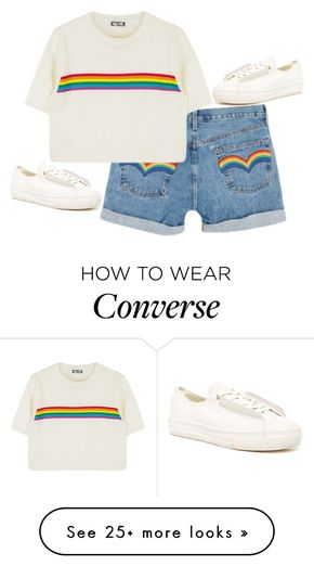 """""""Maybe We're Different"""" by m4k4y14 on Polyvore featuring Converse and modern"""