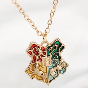 Harry Potter Hogwarts Badge Pendant Necklace - Harry Potter Hogwarts Badge Pendant Necklace <<< WANT! Hey relatives, enough with the clothes – I'm not Dobby! Get me something like this!