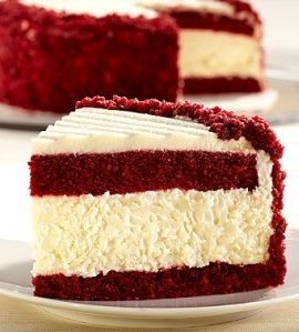 Red Velvet Cheesecake . . . this looks so delicious, can't wait to try it!