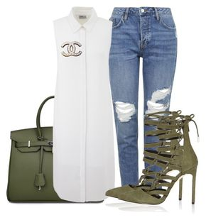 """Untitled #507 - """"Untitled #507"""" by piinkdreamss on Polyvore featuring Topshop, River Island, Chanel, women's clothing, women's fashion, women, female, woman, misses and juniors"""