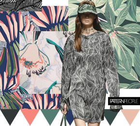 TRENDS // PATTERN PEOPLE - PRINT + COLOR . SS 2017 (FASHION VIGNETTE) - TRENDS // PATTERN PEOPLE - PRINT + COLOR . SS 2017