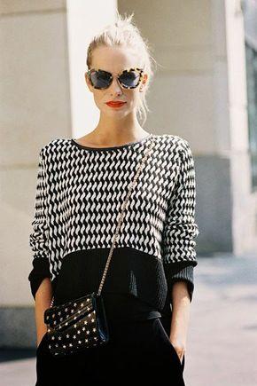 Tuesday Ten: September Style Tips - black/white