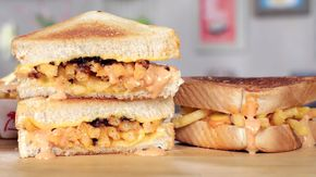 In-N-Out-Inspired Animal Style Grilled Cheese: On our show Get the Dish, we re-create some of our favorite recipes like In-N-Out's Animal Style fries, but here on Eat the Trend, we take those fan favorites and figure out how to make them even better - like layering them inside a warm and gooey grilled cheese sandwich!