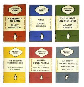 Vintage Penguin Books covers