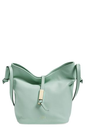 Vince Camuto 'Reed' Leather Bucket Bag - From work-to-weekend, this Vince Camuto bucket bag is so on-trend for spring. Mom will appreciate the convenience and aesthetic!