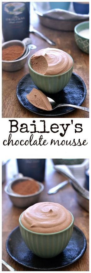 Bailey's Chocolate Mousse - Bailey's Chocolate Mousse