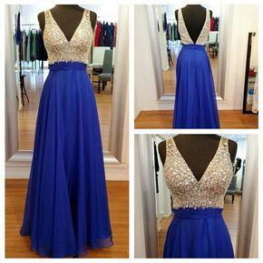 Long Prom Dress - Long prom dress