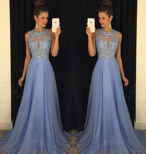 O-Neck A-Line Prom Dresses,Long Pro - O-Neck A-Line Prom Dresses,Long Prom Dresses,Cheap Prom Dresses, Evening Dress Prom Gowns, Formal Women Dress,Prom Dress