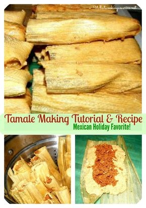 How To Make Tamales Recipe, Whats Cooking America - Tamale Making Tutorial & Recipe