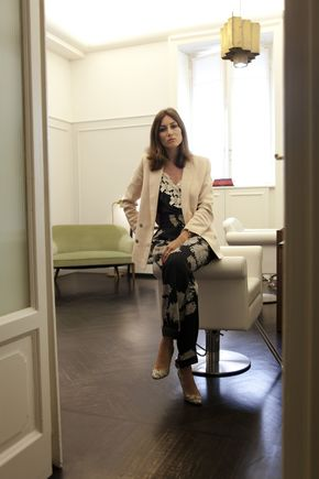 Giorgia Tordini in Styleby magazine. August 2013.