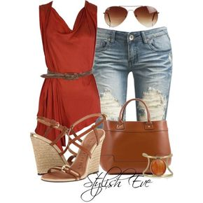 Summer 2013 Outfits: Summer Blouses Provide Stylish Looks - Stylish Eve Summer 2013 Outfits: Summer Blouses Provide Stylish Looks