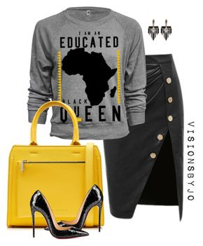 """Untitled #1431 - """"Untitled #1431"""" by visionsbyjo on Polyvore featuring Victoria Beckham, Lulu Frost, women's clothing, women's fashion, women, female, woman, misses and juniors"""