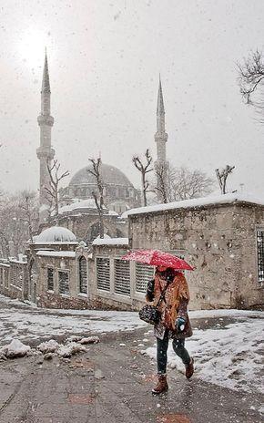 Winter.. in Istanbul, Turkey   by Salvator Barki
