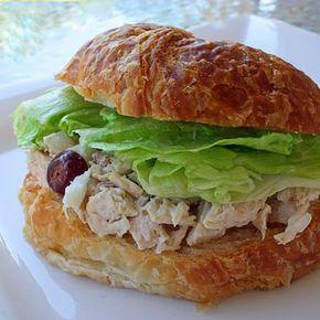 Chicken Salad Sandwiches - easy chicken salad recipe