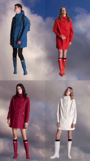 A new collection from Hunter Original, Core Concept is seasonless, weatherproof and playful, combining heritage design with contemporary fabrics to celebrate our unique relationship with rain.