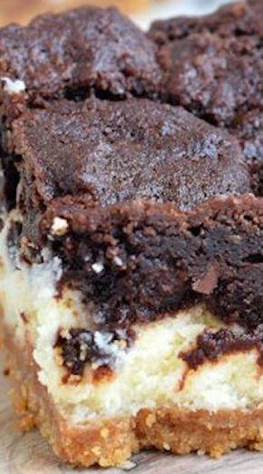 Chocolate Cheesecake Bars - Chocolate Cheesecake Bars