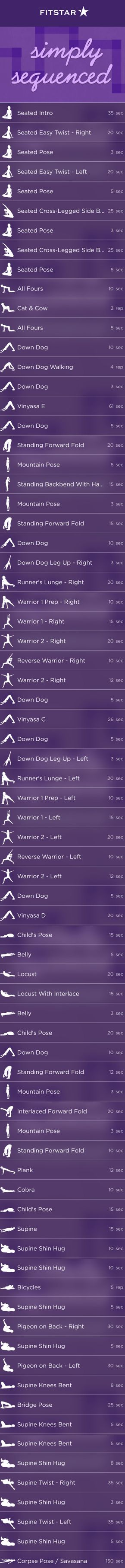 Wake Up or Wind Down with this FitStar Yoga Workout | Fitbit Blog
