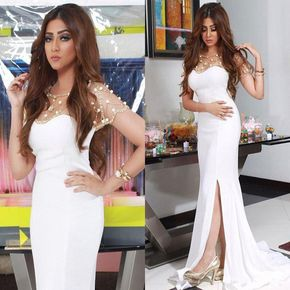 Sexy Prom Dresses,White Evening Dre - Sexy Prom Dresses,White Evening Dresses,New Fashion #prom #party #evening #dress #dresses #gowns #cocktaildress #EveningDresses #promdresses #sweetheartdress #partydresses #QuinceaneraDresses #celebritydresses #2016PartyDresses #2016WeddingGowns #2017HomecomingDresses #LongPromGowns #blackPromDress #AppliquesPromDresses #CustomPromDresses #backless #sexy #mermaid #LongDresses #Fashion #Elegant #Luxury #Homecoming #CapSleeve #Handmade #beading Prom Gowns,Elegant