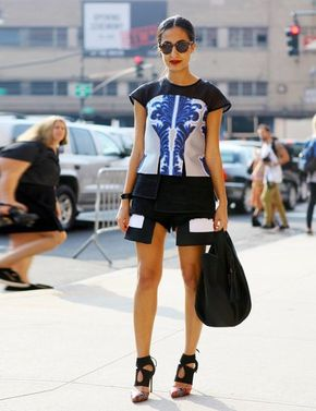 New York Fashion Week Street Style - New York Fashion Week Street Style | ELLE UK