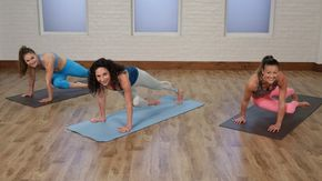 Get Strong From the Inside Out With This 5-Minute Flat-Ab Yoga Sequence: Take five minutes to work your abs with the sweet yoga series from Mandy Ingber.