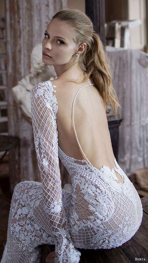 Berta Bridal Fall 2016 Wedding Dresses — Campaign Lookbook - Berta Bridal Fall 2016 #wedding dress #inspiration