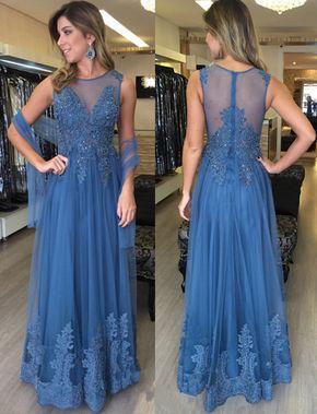 Charming Prom Dress,Sleeveless A Li - Charming Prom Dress,Sleeveless A Line Lace Prom Dress,