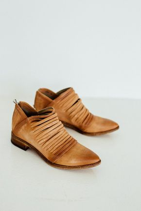 Lost Valley Ankle Boot in Tan $178
