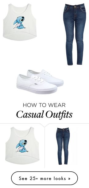 """""""Casual"""" by juneisbest on Polyvore featuring Vans"""