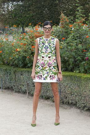 Street fashion: Paris Fashion Week wiosna-lato 2014, cz. 2 (Giovanna Battaglia) / fot. Imaxtree