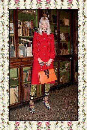 Gucci Pre-Fall 2017 Fashion Show - See the complete Gucci Pre-Fall 2017 collection.