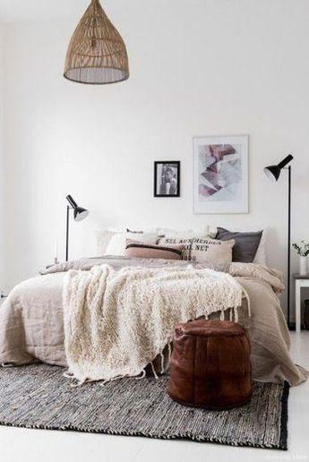 28 Clever Minimalist Apartment Bedroom Decorating Ideas