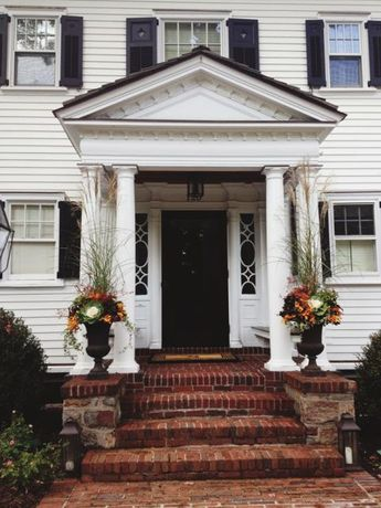 19 Fun Ways To Decorate Your Porch This Fall