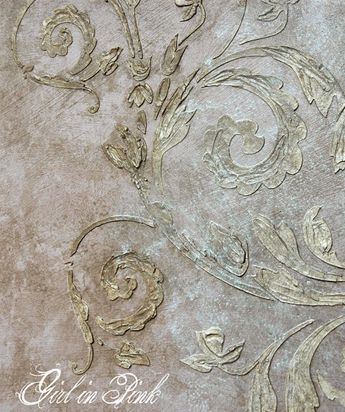 Artisan Enhancements No-VOC, tintable Scumble product works like a glaze.  Layering colors offers dimension and complexity to your finish.  Full tutorial for this technique in blog post.