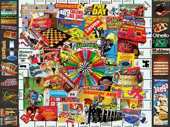 Favorite Games (EZ Grip 300 Piece Puzzle by White Mountain)
