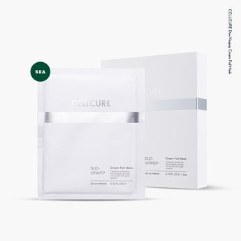 Cellcure Duo-Vitapep Cream Foil Mask • Released February 2017