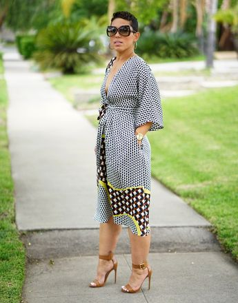 DIY SILK DRESS USING VOGUE #9253