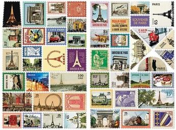 Stamp Sticker Ver.3 - Paris
